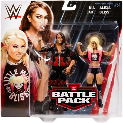 WWE Battle Pack Series 54 - Alexa Bliss vs. Nia Jax