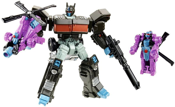 Generations Legends Nemesis Prime with Spinister