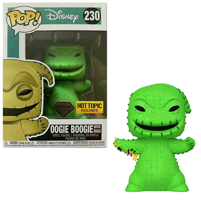 Disney - Nightmare Before Christmas Oogie Boogie with Bugs Diamond Edition Exclusive Pop! Vinyl Figure
