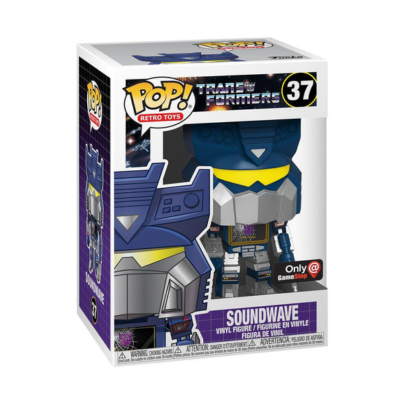 POP Retro Toys - The Transformers Soundwave (Damaged) Exclusive POP! Vinyl Figure