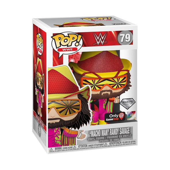 "WWE - ""Macho Man"" Randy Savage Diamond Edition Exclusive Pop! Vinyl Figure"