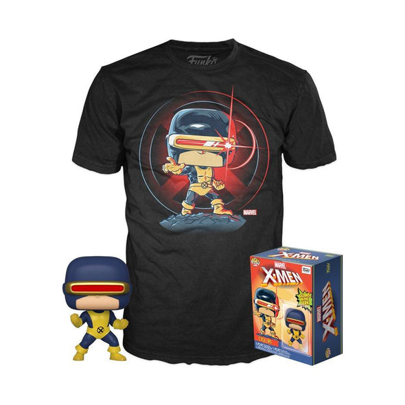 POP Tees - X-Men Glow-In-The-Dark Cyclops (First Appearance) Pop with Tee Exclusive