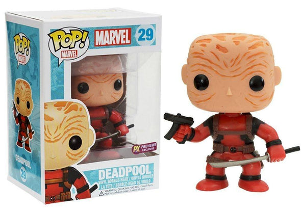 Marvel Universe - Deadpool (Maskless) Pop! Vinyl Figure