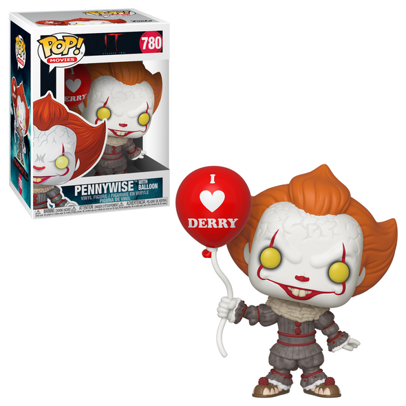 IT: Chapter Two (2019) - Pennywise (/w Derby Balloon) Pop! Vinyl Figure