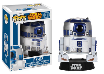 Star Wars R2-D2 Pop Vinyl Bobble Head Figure