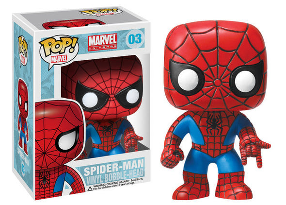 Marvel Universe Spider-Man Pop! Vinyl Figure