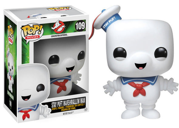 "Ghostbusters Stay Puft Marshmallow Man 6"" Pop! Vinyl Figure"