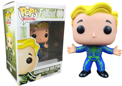 Fallout - Adamantium Skeleton Chase Exclusive Pop! Vinyl Figure