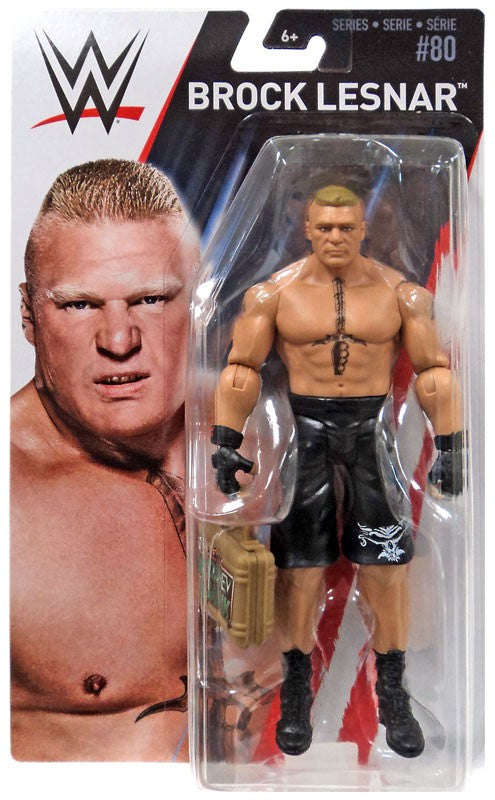 WWE Series 80 - Brock Lesnar with MITB Case