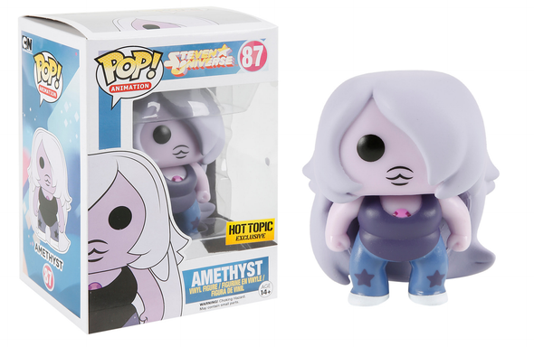 Steven Universe Glow-In-The-Dark Amethyst Exclusive Pop! Vinyl Figure