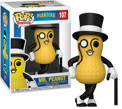 POP Ad Icons - Planters Mr. Peanut Pop! Vinyl Figure