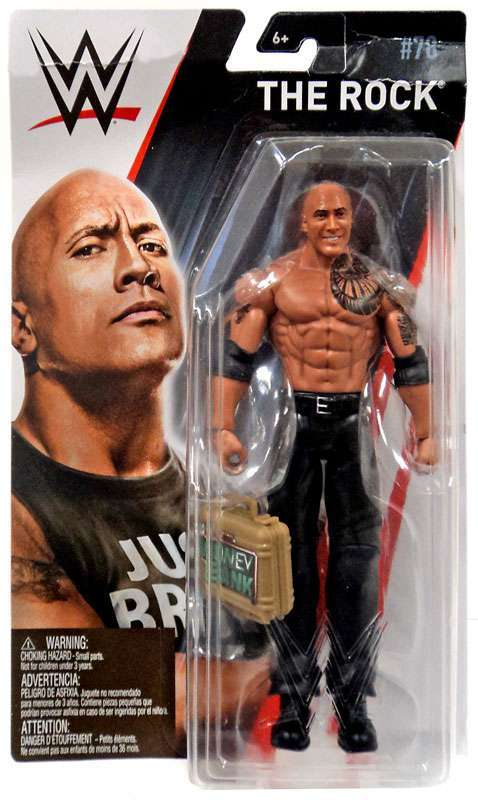 WWE Series 78 - The Rock with MITB Case
