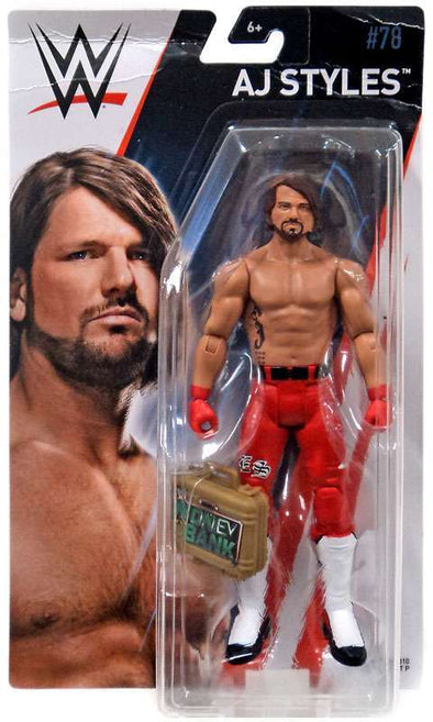 WWE Series 78 - AJ Styles with MITB Case