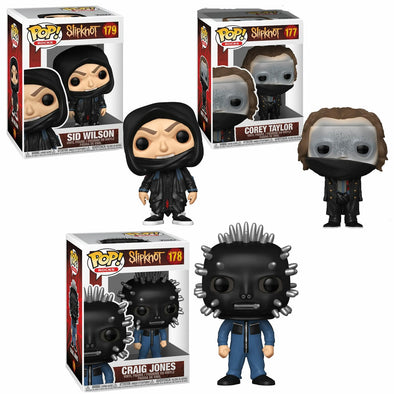 POP Rocks - Slipknot Bundle 3-pack POP! Vinyl Figures