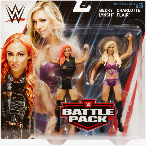 WWE Battle Pack Series 55 - Becky Lynch vs. Charlotte Flair