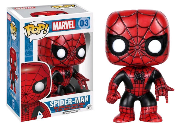 Marvel Spider-Man Exclusive Pop! Vinyl Figure
