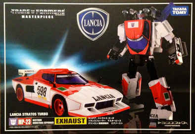 MP-23 Masterpiece Exhaust