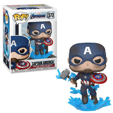 Avengers Endgame - Captain America /w Broken Shield Pop! Vinyl Figure