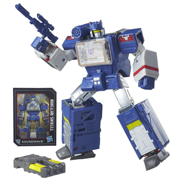 Titans Return Leader Soundwave