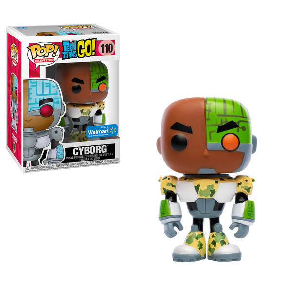 Teen Titans Go! - Cyborg (Camo) Exclusive Pop! Vinyl Figure