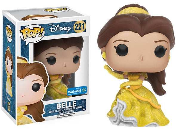Disney - Glitter Princess Belle Exclusive Pop! Vinyl Figure