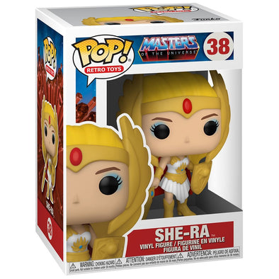 POP Retro Toys - Masters of the Universe Classic She-Ra Pop! Vinyl Figure