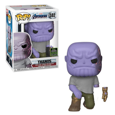 ECCC 2020 - Marvel Avengers Endgame Thanos (Detachable Arm) Exclusive Pop! Vinyl Figure