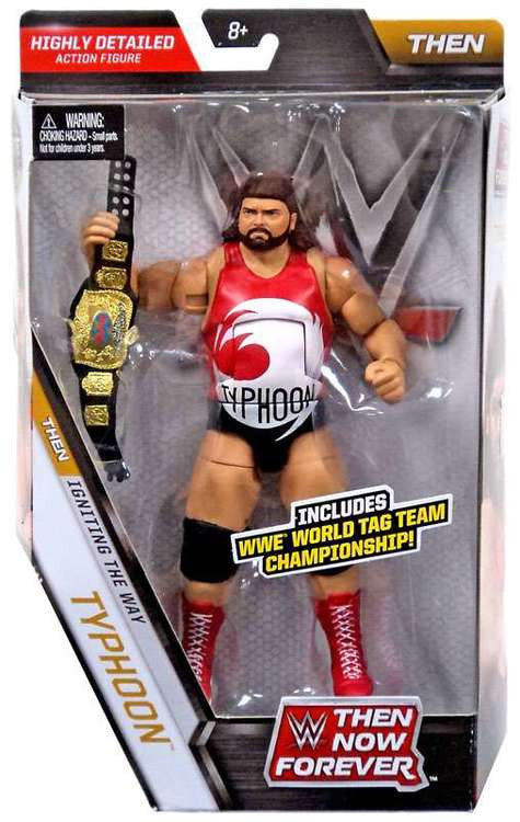 WWE Elite Then-Now-Forever Series - Typhoon