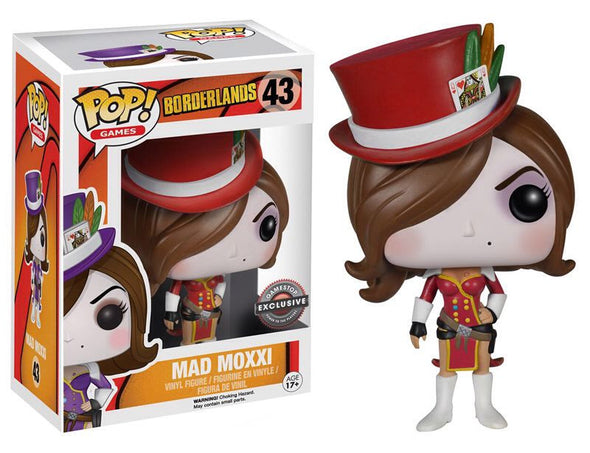 Borderlands - Red Mad Moxxi Exclusive Pop! Vinyl Figure