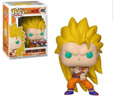 Dragonball Z - Super Saiyan 3 Goku Pop! Vinyl Figure