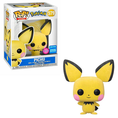 WonderCon 2020 - Pokemon Flocked Pichu Exclusive Pop! Vinyl Figure