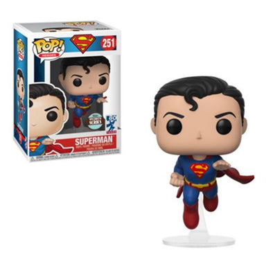 Superman - Superman Flying (80th Anniversary) Specialty Series Exclusive Pop! Vinyl Figure