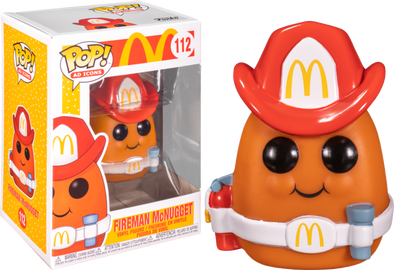 POP Ad Icons - McDonald's Fireman McNugget Pop! Vinyl Figure