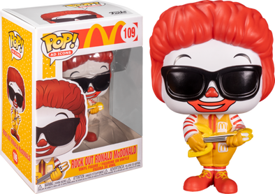 POP Ad Icons - McDonald's Rock Out Ronald Pop! Vinyl Figure