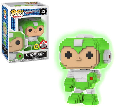 Fan Expo 2018 - Mega Man Gyro Attack Glow-In-The-Dark Exclusive POP! Vinyl Figure