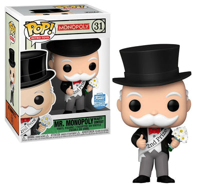 POP! Retro Toys - Mr. Monopoly (Beauty Contest) Exclusive POP! Vinyl Figure