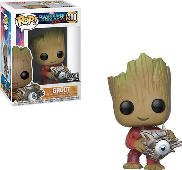 Guardians of the Galaxy Volume 2 - Groot (with Eye) Exclusive Pop! Vinyl Figure