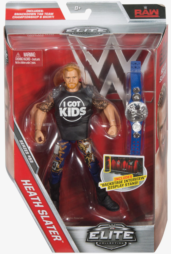 WWE Elite Series 53 - Heath Slater