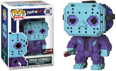 8-Bit - Friday The 13th Jason Voorhees (NES Colours) Exclusive Pop! Vinyl Figure