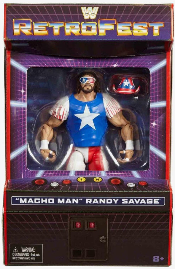 "WWE Elite RetroFest Exclusive Series - ""Macho Man"" Randy Savage"