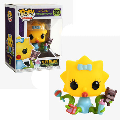 The Simpsons - Treehouse of Horrors Alien Maggie Pop! Vinyl Figure