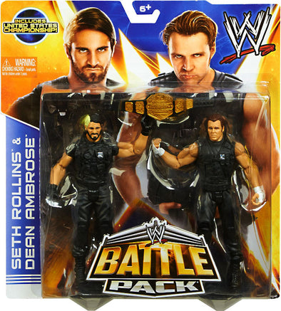 WWE Battle Pack Series 26 - Seth Rollins and Dean Ambrose (SHIELD)