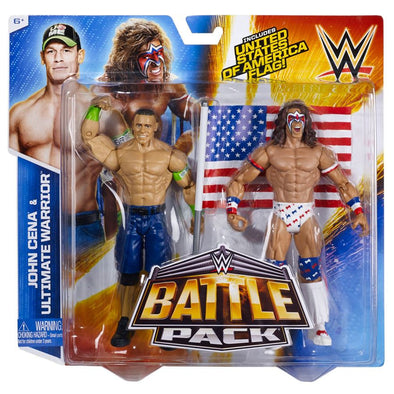 WWE Battle Pack - Ultimate Warrior and John Cena