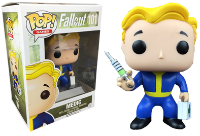 Fallout - Medic Exclusive Pop! Vinyl Figure