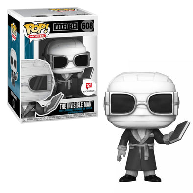 Universal Monsters - The Invisible Man Exclusive Pop! Vinyl Figure