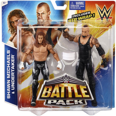 WWE Battle Pack - Shawn Michaels and Undertaker