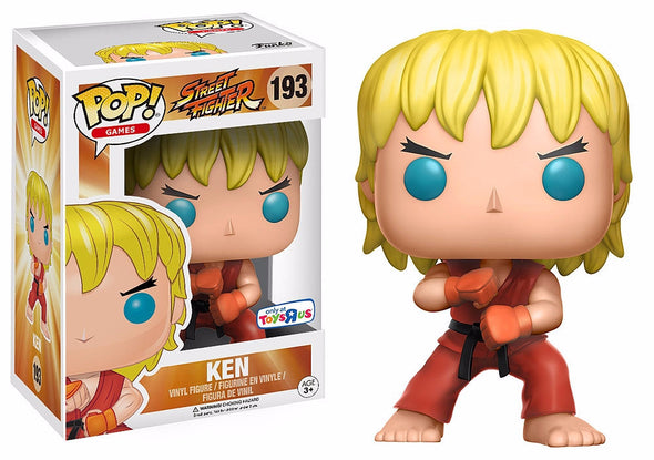Street Fighter - Ken Special Attack Exclusive POP! Vinyl Figure