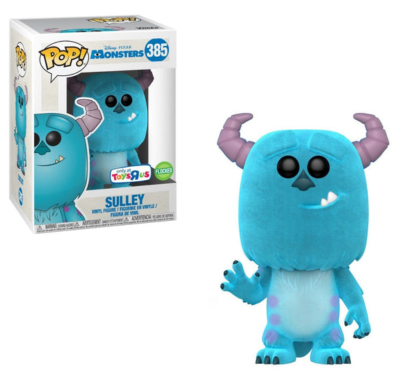 Disney Pixar - Monsters Flocked Sulley Exclusive Pop! Vinyl Figure