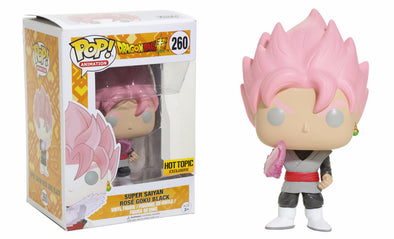 Dragonball Z - Super Saiyan Rosé Goku Black Exclusive Pop! Vinyl Figure