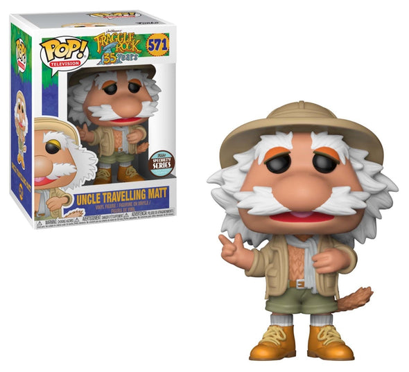 Fraggle Rock - Uncle Travelling Matt Specialty Series Exclusive Pop! Vinyl Figure
